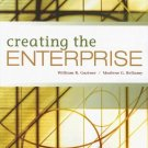 Creating the Enterprise by Marlene G. Bellamy 0324353634