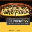 Operations Now: Profitability, Process, Performance 2nd by Byron Finch 0073129178