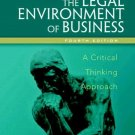 The Legal Environment Of Business 4th by Nancy K. Kubasek 0131498568