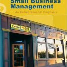 Small Business Management 13th by Justin G. Longenecker 0324226128