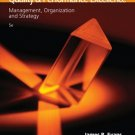Quality and Performance Excellence: Management, Organization, and Strategy 5th by Evans 0324381328