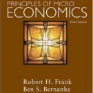 Principles of Microeconomics 3rd by Ben Bernanke 007323060X