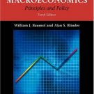 Macroeconomics: Principles and Policy 10th by William J. Baumol 0324221142