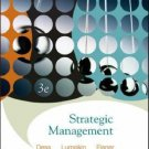 trategic Management: Creating Competitive Advantages 3rd by Gregory G. Dess 0073124575
