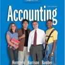 Accounting 6th Chapters 1-18 by Charles Horngren 0131436317