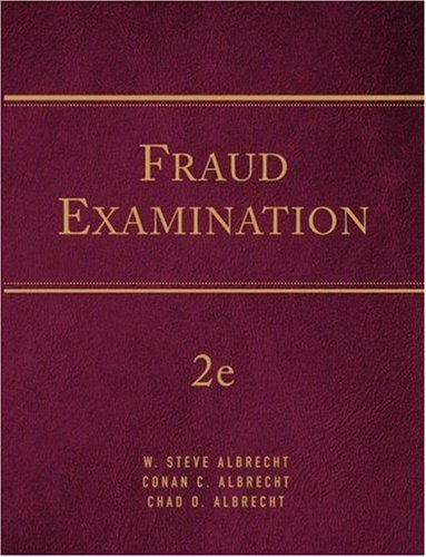 Forensic Examination 2nd by W. Steve Albrecht 032430160X