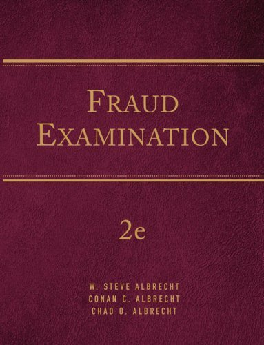 Fraud Examination 2nd by Albrecht 0324651155