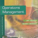 Operations Management 6th by Jay H. Heizer 013018604X