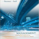 Management: Leading And Collaborating in the Competitive World 7th by Bateman 0073254622