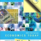 Economics Today: 2001-2002 11th by Roger LeRoy Miller 020178615X