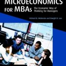 Microeconomics for MBAs by Richard B. McKenzie 0521859816