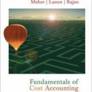 Fundamentals of Cost Accounting by Michael W. Maher 0073018376