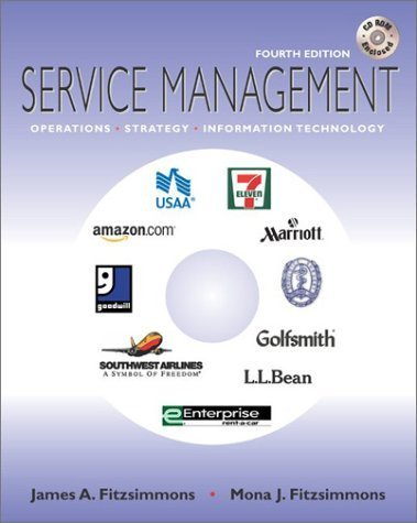 Service Management 4th by James A. Fitzsimmons 0072868201