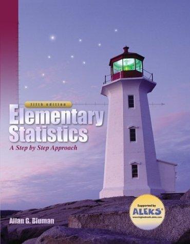 Elementary Statistics 5th by Bluman 0072880716