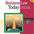 Business Law Today: Standard 6th Edition by Miller 0324120974