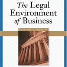 The Legal Environment of Business 9th by Roger E. Meiners 032420485X