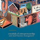 Essentials of Entrepreneurship and Small Business Management 4th by Thomas W. Zimmerer 0131440292