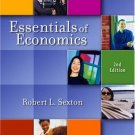 Essentials of Economics 2nd by Robert L. Sexton 0324222092