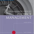 Information Technology Project Management 4th by Kathy Schwalbe 0619215267