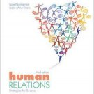 Human Relations: Strategies for Success 3rd by Lamberton 0073522317