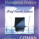 Principles of Managerial Finance 4th by Lawrence J. Gitman 0321267605