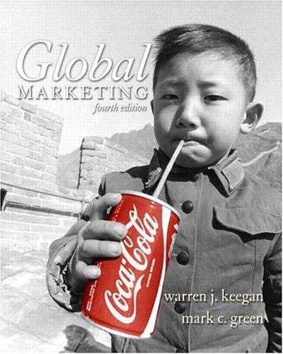 Global Marketing 4th by Warren J. Keegan 0131469193