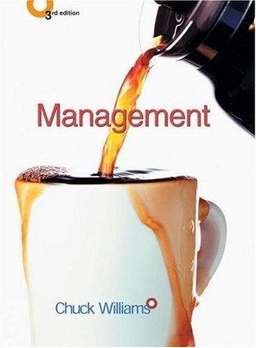 Management 3rd by Chuck Williams 0324201265