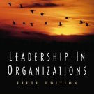 Leadership in Organizations 5th by Gary A. Yukl 0130323128