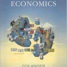 Economics 6th by David C. Colander 0073222976