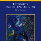 Economics and the Environment 3rd by Eban J. Goodstein 0471399981