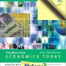 Economics Today: The Micro View, 2001-2002 11th by Roger Leroy Miller 0201786176
