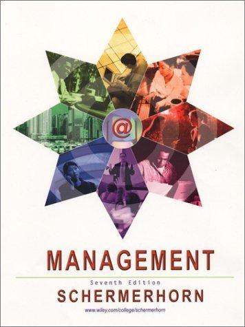 Management 7th by Schermerhorn 0471435708