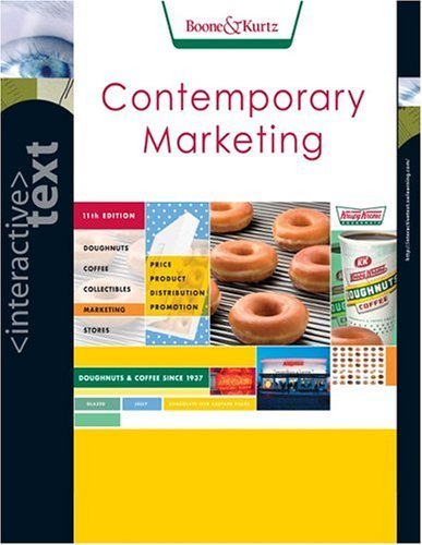 Contemporary Marketing 11th by Louis E. Boone 0324290101