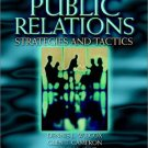 Public Relations: Strategies and Tactics 7th by Wilcox 0205360734
