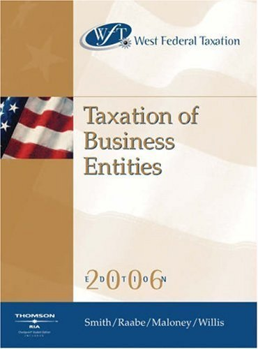 West Federal Taxation 2006 9th by David M. Maloney 0324305028