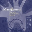 Management The New Competetive Landscape 6th by Scott Snell 0072538651