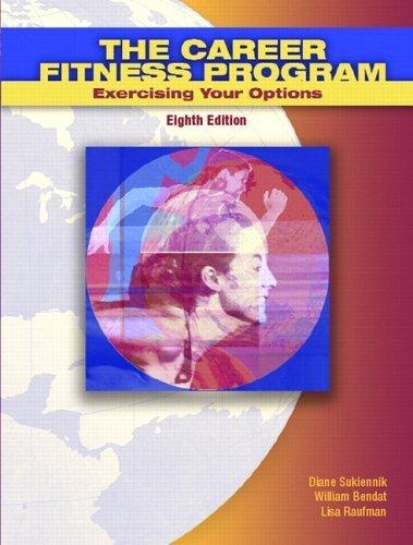 The Career Fitness Program 8th by Lisa Raufman 0131702947