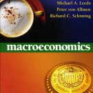 Macroeconomics by Michael Leeds 032127881X