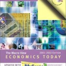 Economics Today: The Macro View, 2001-2002 MyEconLab 11th by Roger Miller 0201787032