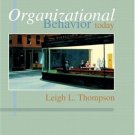 Organizational Behavior Today by Leigh Thompson 0131858114