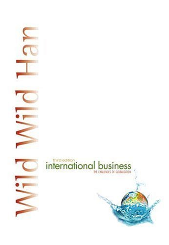 International Business 3rd by Jerry C. Y. Han 0131432753