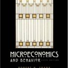 MicroEconomics and Behavior 5th by Robert H. Frank 0072483342