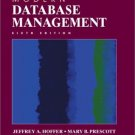 Modern Database Management 6th by Fred R. McFadden 0130339695