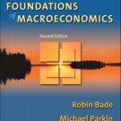 Foundations of Macroeconomics 2nd by Robin Bade 0321178580