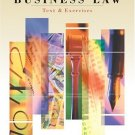 Business Law: Text and Exercises 4th by Roger LeRoy Miller 032427050X