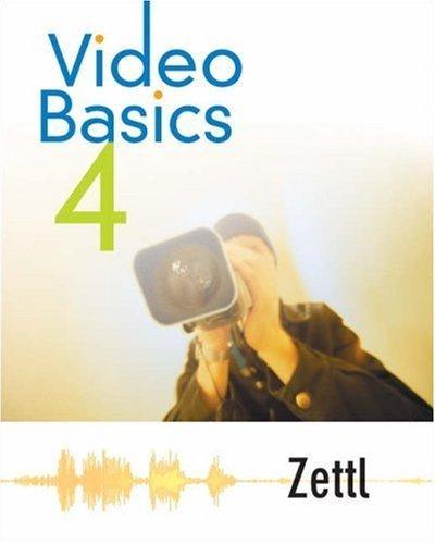 Video Basics 4 by Herbert Zettl 0534612458