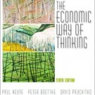 The Economic Way of Thinking 10th by David L. Prychitko 0130608106