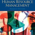 A Framework for Human Resource Management 4th by Gary Dessler 0131886762