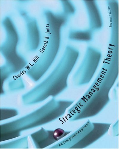 Strategic Management Theory 7th by Charles Hill 0618641645