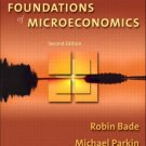 Foundations of Microeconomics 2nd by Robin Bade 0321178572
